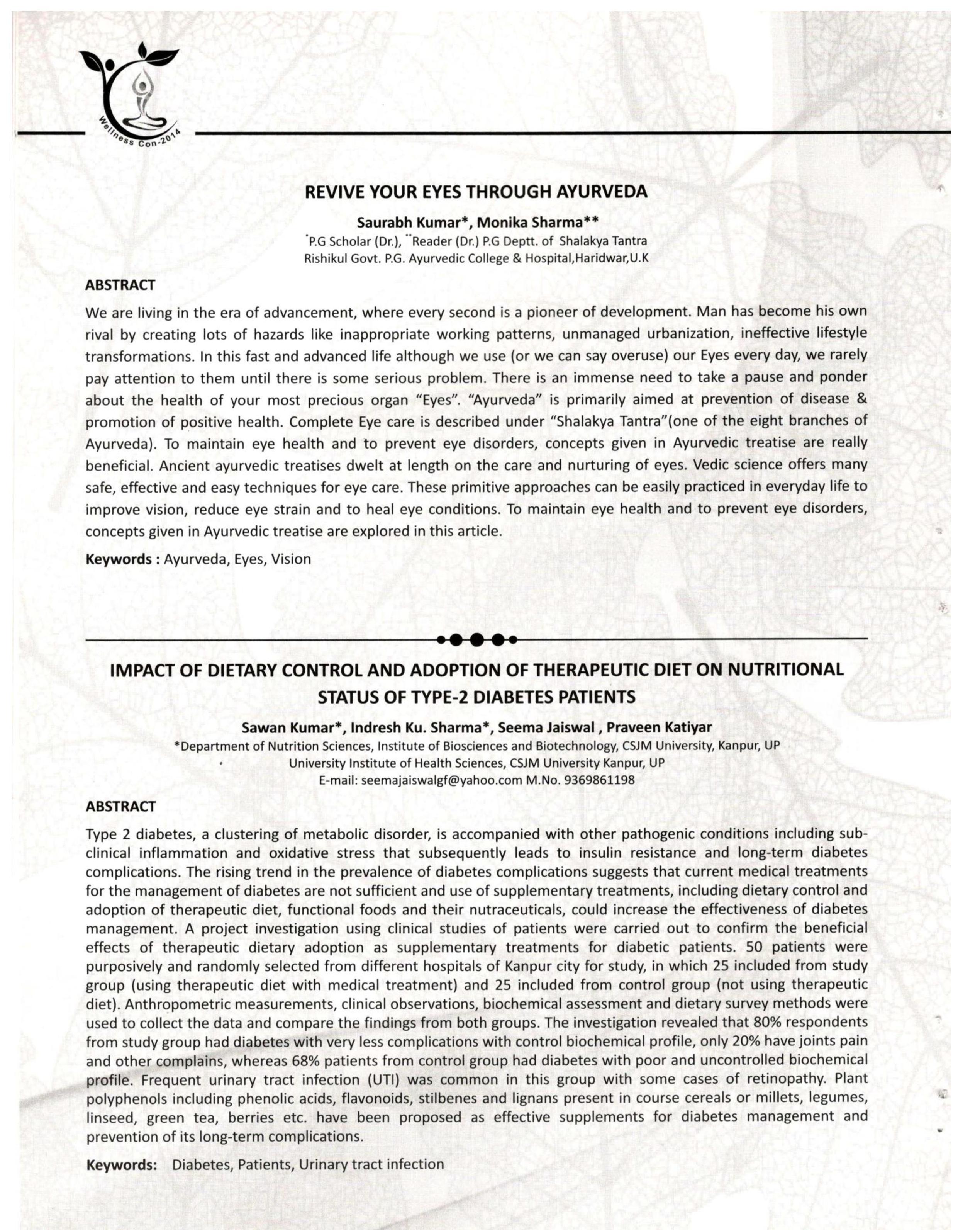 International Journal of wellness